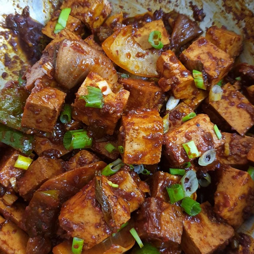 Sweet Spicy Tofu Stir Fry